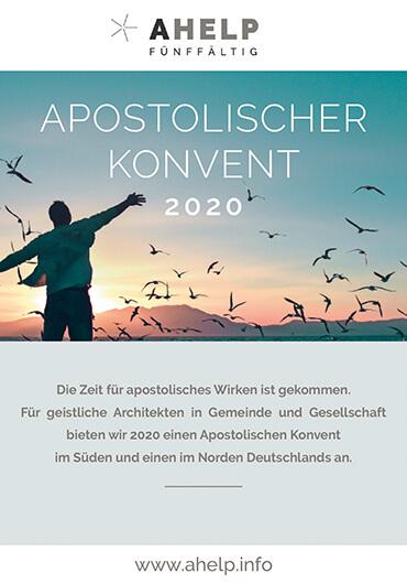 Apostolischer Konvent 2020