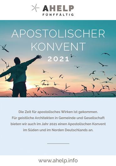 Apostolischer Konvent 2021